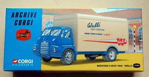 Corgi Archive Walls Ice Cream Van  Bedford S Box Van (19304) (BNIB)