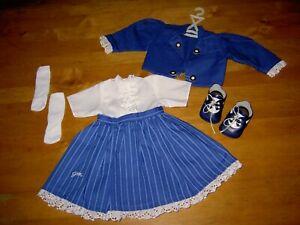 Konvolut Puppenkleidung*Wunderschönes 2teilg. Puppenkleid von Götz ,Schuhe u.a.*
