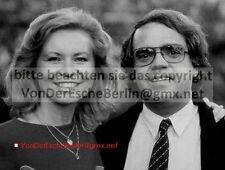Stars: Eugen Cicerón con Angelique Meier-foto original vintage foto: Ingo Barth