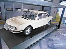 NSU Autounion Audi RO80 Ro 80 Wankel Limousine 1972 weiss white Minichamps 1:18