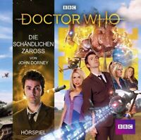 JOHN DORNEY - DOCTOR WHO: DIE SCHÄNDLICHEN ZAROSS   CD NEW