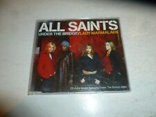 ALL SAINTS - Under The Bridge - Deleted 1998 UK 5-track enhanced CD single