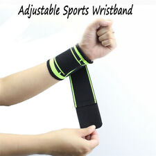 Adjustable Sports Wristband Protector Wrist Brace Wrap Support Tennis Strap  KP