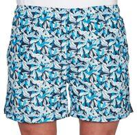 GANT Airy Leaf Blue Swim Shorts Boardies. Size S, BNWT, RRP $139