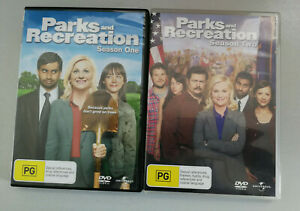 Parks And Recreation Season One + Season Two DVD VGC Rated PG R4