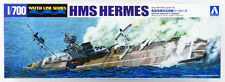 Aoshima 1/700 Model Kit WWII British Royal Navy Aircraft Carrier HMS Hermes (95)