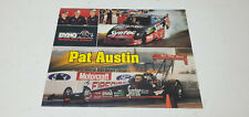 Pat Austin DynoMax 8x10 Color Photo Advertisement Funny Car Drag Racing