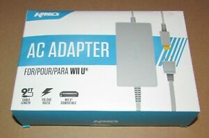 AC Power Supply Adapter For Nintendo Wii U Console Brand New / Fast Shipping