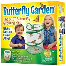 Insect Lore Butterfly Growing Kit -( With Voucher to Redeem Caterpillars Later)