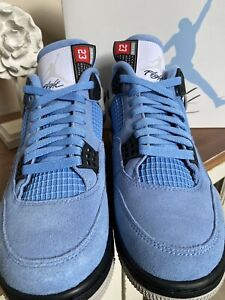"Air Jordan Retro 4 ""University Blue"" CT8527-400 UNC Size 9 🔥"
