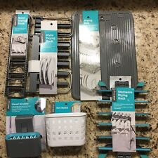 Kitchen Accessories Drying Mat Rack Stemware Utensil Scrubber Sink Dry Lot
