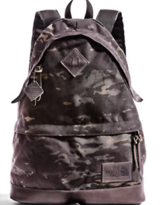 The North Face TNF '68 Daypack Backpack Black/Camo New with Tags