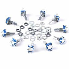 12mm 10pcs Rotary Encoder Push Button Switch Keyswitch Electronic Components Hot