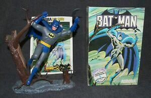 Aurora Model Built Up 1974 Batman Comic Scenes +Box +Comic Pro Job