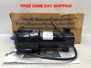 BODINE ELECTRIC GEAR MOTOR 24A4BEPM-Z4 1/17HP 180:1 RATIO 14 RPM ITEM 748300-O1