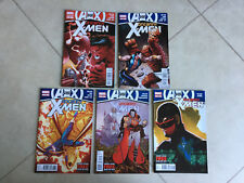 MARVEL COMICS A vs X UNCANNY X-MEN 11 12 13 14 & 15 (11 IS VARIANT) (5 COMICS)