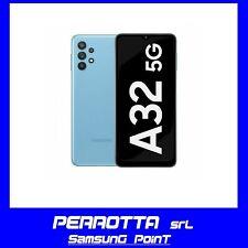 SAMSUNG Galaxy A32 5G 4GB RAM +128GB Blue NUOVO 2anni Garanzia Italia