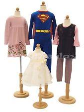 4 Units Children Mannequin Dress Form Display # JF-11C6M2T4T7T Group