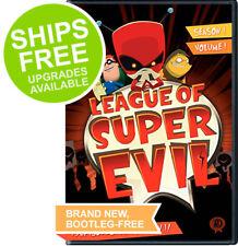 League of Super Evil Season 1 Volume 1 (DVD, 2014) NEW, Sealed, LOSE