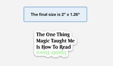 MTGnerds YouTube Merch Upside Down Magic The Gathering Sticker