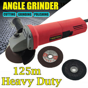 Angle Grinder 125mm 5 inch 850W 11000rpm Electric Grinding Sander Corded Power
