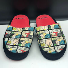 e1f9183c11 SNOOPY SLIPPER SHOES CHARLIE BROWN slip ons good grief lucy small 5-6  blockhead