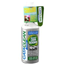 CATACLEAN CATALYTIC CONVERTOR INJECTOR CLEANER EMISSION REDUCER PETROL + DIESEL