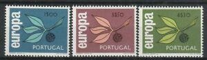Europa Cept 1965 Portugal 990-992 ** Michel 25 Euro