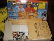 Vintage The Jumbo Wood Burning Set No. 7770 Nsi Natural Science 1983 Ages 13 & U
