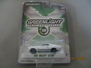 Greenlight Collectibles 10th Anniversary 1967 SHELBY GT 500 Green Machine Chase
