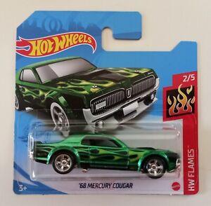 Hot Wheels '68 Mercury Cougar STH Super Treasure Hunt 2021