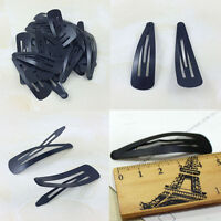 10Pcs Metal Hairpin hair Clips Snap Barrettes Hairpin Slides Grips Useful Nice