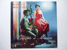 MOACYR SILVA e MARISA - CONVITE À MUSICA 2 LP 1958 BRAZIL BOSSA JAZZ VOCAL PROMO