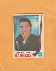 1969-70 O PEE CHEE JIM NEILSON NO:35  v g cond    see scan   LOT 46    a
