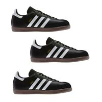 Adidas Mens Samba Trainers Originals Shoes Suede Casual Sneakers Black
