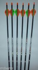 6-- Easton Aftermath 400 Carbon Arrows w/ Blazer Vanes! WILL CUT TO LENGTH!