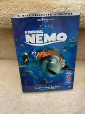 Finding Nemo (Dvd, 2003, 2-Disc Collector's Edition Set) Disney Pixar Used Once