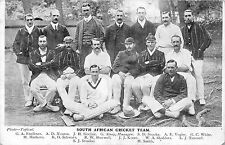 POSTCARD  SPORT   CRICKET   SOUTH  AFRICA