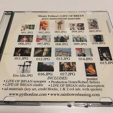 Monty Python's LIFE OF BRIAN re-release EPK Digital Press Kit photos ad material