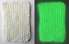 Glow in the Dark Yarn - 4-Ply Fingering Weight - 120 Yards - Glows Green