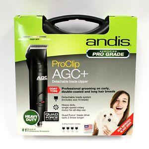 Andis ProClip AGC+ Detachable Blade Clipper Heavy Duty 22545 In Hard Case