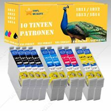 10x No Originales Cartuchos de tinta compatibles para Epson Home xp-322/xp-325