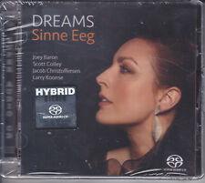 """Sinne Eeg - Dreams"" Stereo Hybrid SACD Audiophile Female Jazz Vocal CD New"