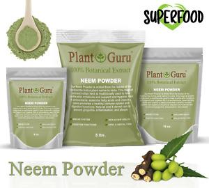 Neem Powder Dried Leaf 100% Pure & Natural Raw Vegan Leaves (Azadirachta indica)