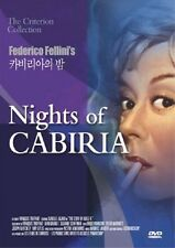 Nights of Cabiria (1957) - Federico Fellini DVD *NEW