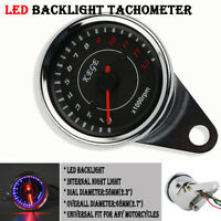 Motorcycle Backlight LED Tachometer Tacho Gauge 13000RPM Fit For Suzuki Scooter