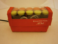 REMINGTON QUICK CURL SET ALL THAT 90 SECOND INSTANT HEAT CURLERS 10 ROLLS 2 SIZE