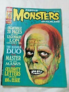 Famous Monsters of Filmland #102 nice copy Phantom Opera 1973 Warren magazine
