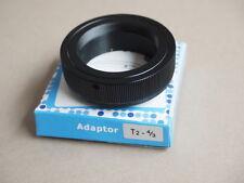 T2 adapter Olympus 4/3 Four Thirds Cuatro Tercios Panasonic adaptador