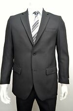 Men's Black 2 Button Classic Fit Suit SIZE 52R NEW